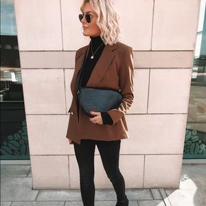 🔴BOGO! Forever 21 Brown Blazer